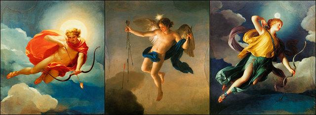 «Персей и Андромеда», Антон Рафаэль Менгс — описание картины