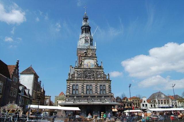 Музей сыра в Алкмаре, Голландия