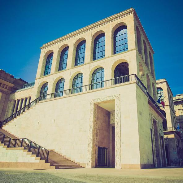 Галерея современного искусства в Милане, Италия