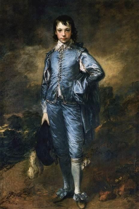 «Мальчик в голубом», Томас Гейнсборо — описание картины