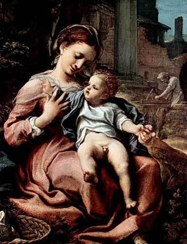 Женский портрет, Корреджо (Антонио Аллегри)