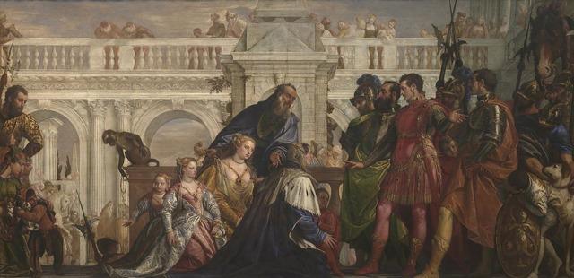 Автопортрет, Паоло Веронезе, 1528