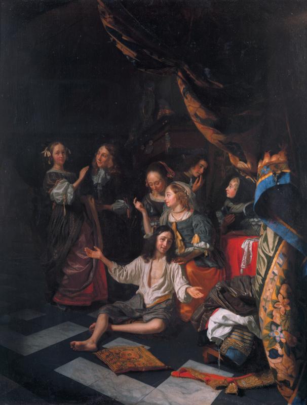 Дама у вирджинала, Ян Вермеер