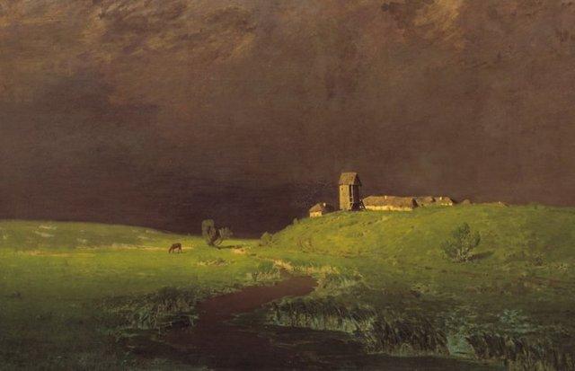 Картина «После дождя», Куинджи, 1879