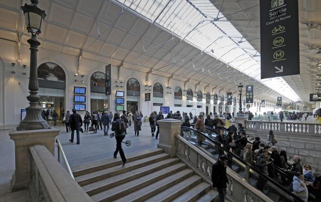 Железная дорога (Вокзал Сен-Лазар), Эдуард Мане - описание картины