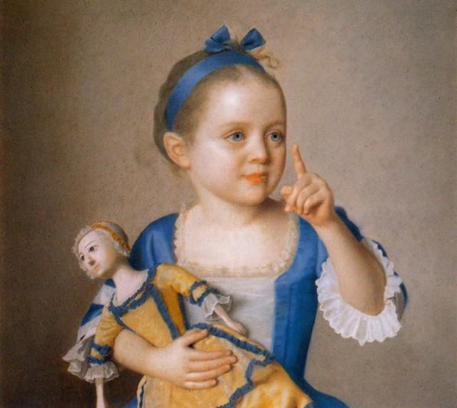 Мария-Аделаида Французская в турецком костюме, Жан-Этьен Лиотар, 1753