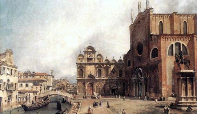 Собор Сан Джованни э Паоло и площадь Сан-Марко, Антонио Каналь