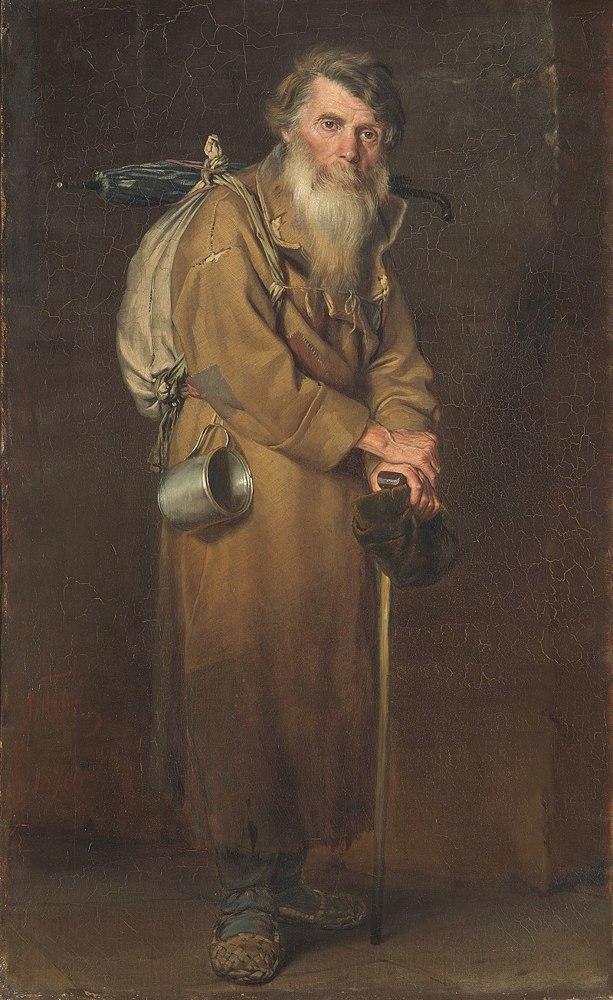 Проводы покойника, Василий Григорьевич Перов, 1865