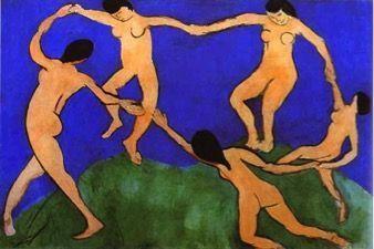 Картина Танец, Анри Матисс, 1910