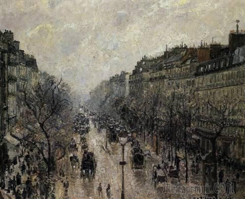 Вид из моего окна, Камиля Писсарро, 1886