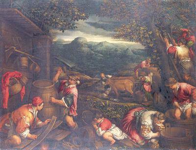 «Поклонение волхвов», Якопо Бассано — описание картины