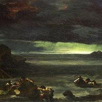 Укрощение быков, Теодор Жерико, 1817