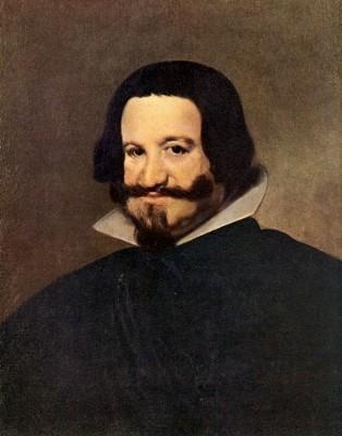Портрет графа-герцога Оливареса, Диего Веласкес — описание
