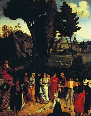 «Старуха», Джорджоне — описание картины
