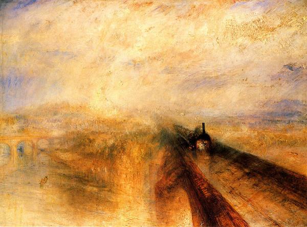 Дождь, пар и скорость, 1844, Уильям Тернер