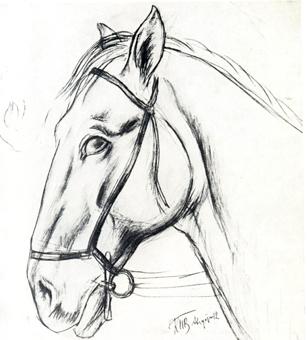 Купание красного коня, К. С. Петров-Водкин, 1912