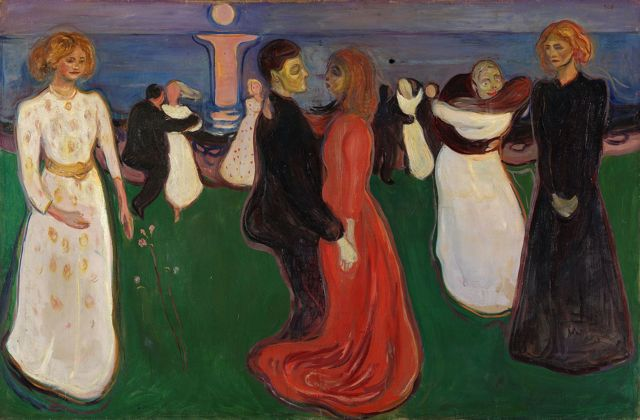 Танец жизни, Эдвард Мунк, 1899