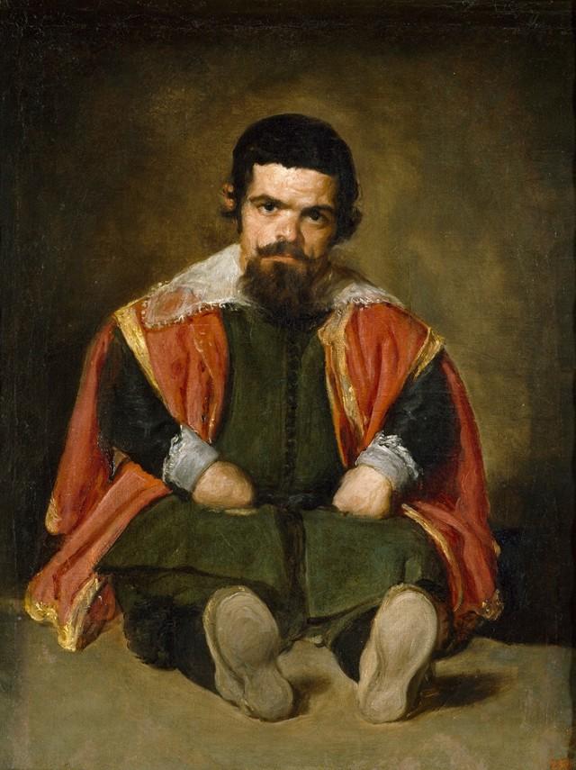 Портрет придворного шута «Эль Примо», Диего Веласкес