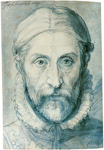 «Библиотекарь», Джузеппе Арчимбольдо — описание картины