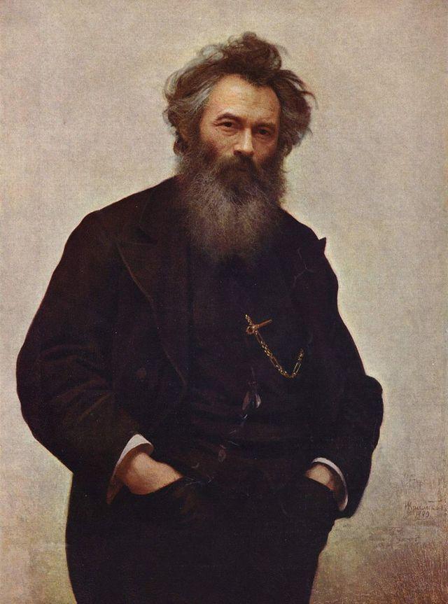 Христос в пустыне, 1872, Крамской