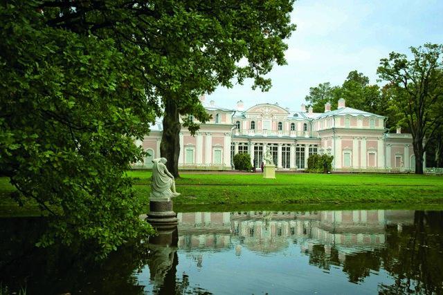 Павильон катальной горки, Ораниенбаум, Петербург