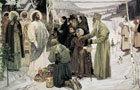 «Видение отроку Варфоломею», Михаил Васильевич Нестеров — описание картины