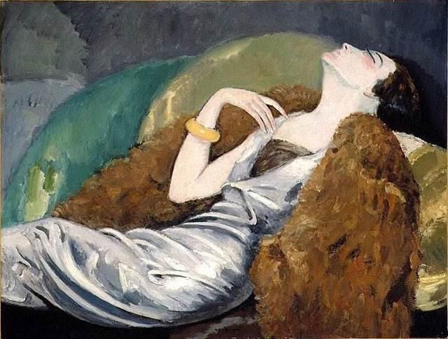 Красная танцовщица, Кес ван Донген, 1907