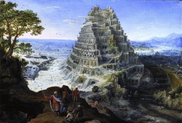 «Вавилонская башня», Питер Брейгель Старший — описание картины