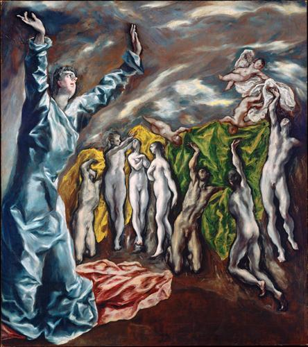 «Воскресение», Эль Греко — описание картины