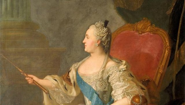 Портрет Екатерины ii (1763 год), Фёдор Степанович Рокотов