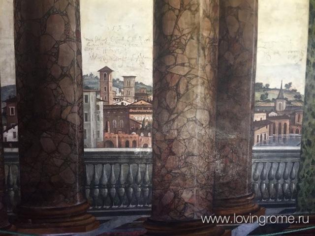 Вилла Фарнезина в Риме, Италия