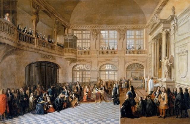Сколько картин было в коллекции Людовика xiv