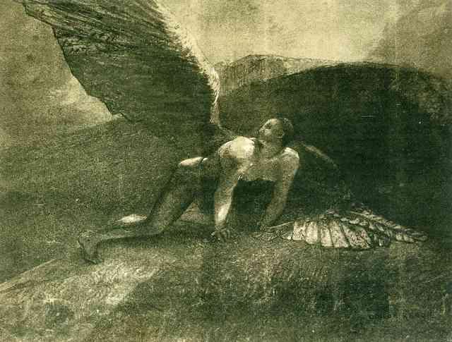 Женщина с полевыми цветами - Одилон Редон