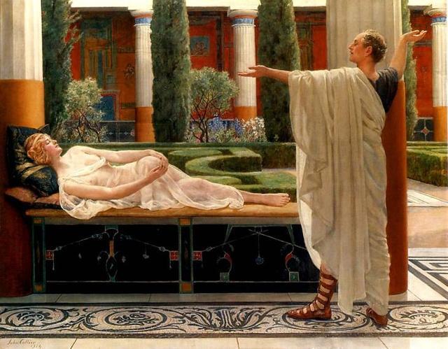 «Прощание», Кристиан Крог — описание картины