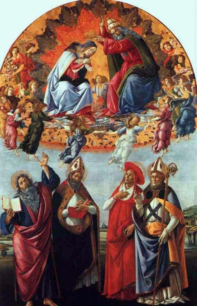 Алтарь Сан Марко, Сандро Боттичелли