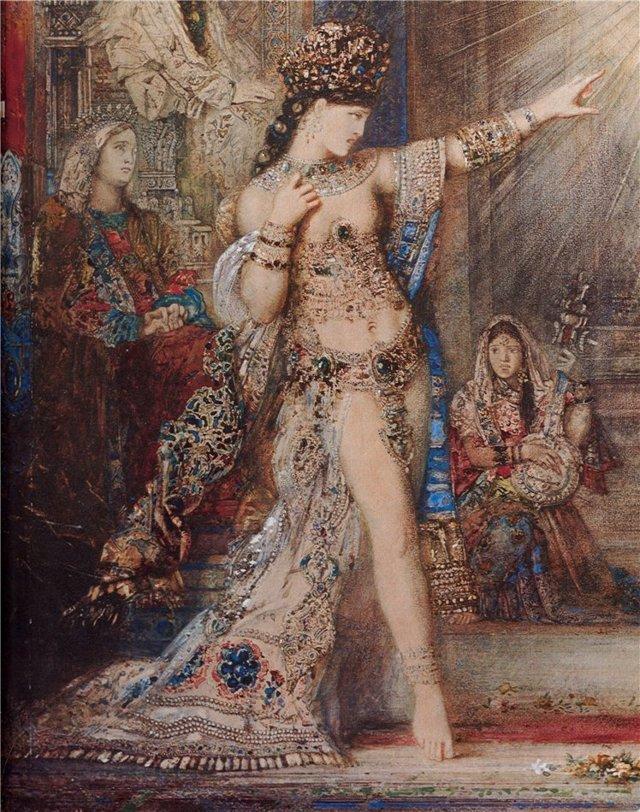 Орфей у гробницы Эвридики, Гюстав Моро - описание картины