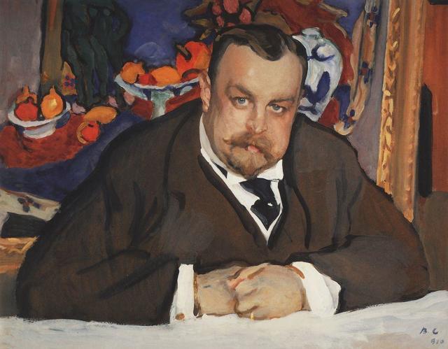 Картины, биография: Серов Валентин Александрович