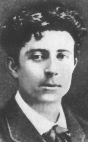 Автопортрет-гротеск, Поль Гоген, 1889