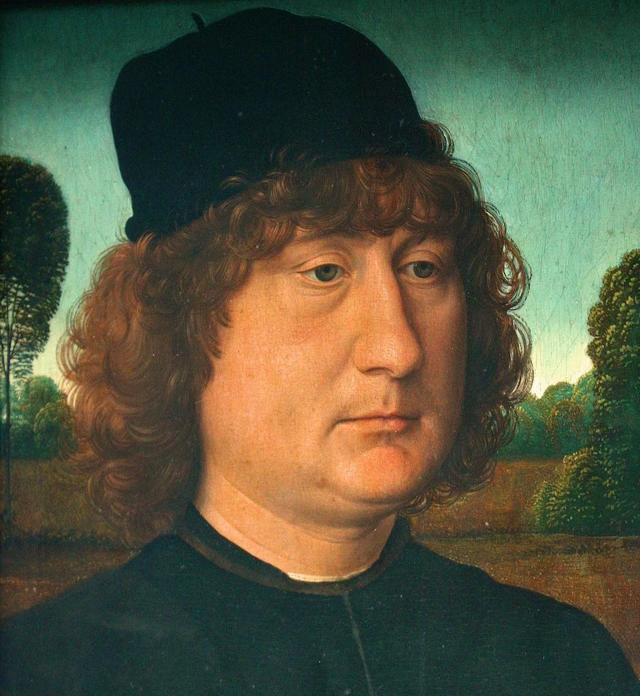 Мужской портрет, Ханс Мемлинг