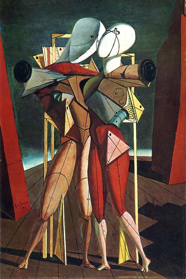 Блудный Сын, Джорджо де Кирико - описание картины