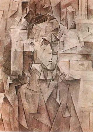 Портрет Амбруаза Воллара, Пикассо, 1910