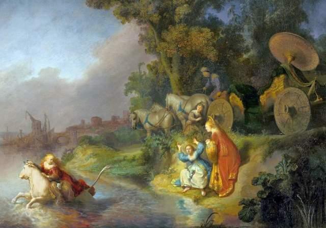 «Похищение Европы», Паоло Веронезе — описание картины