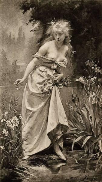 «Офелия», Джон Эверетт Милле — описание картины