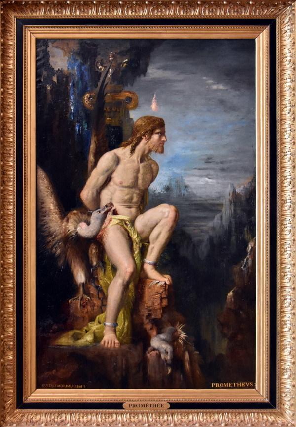Юпитер и Семела - Гюстав Моро
