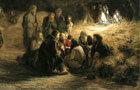 Страдная пора (Косцы) - Г. Г. Мясоедов, 1887