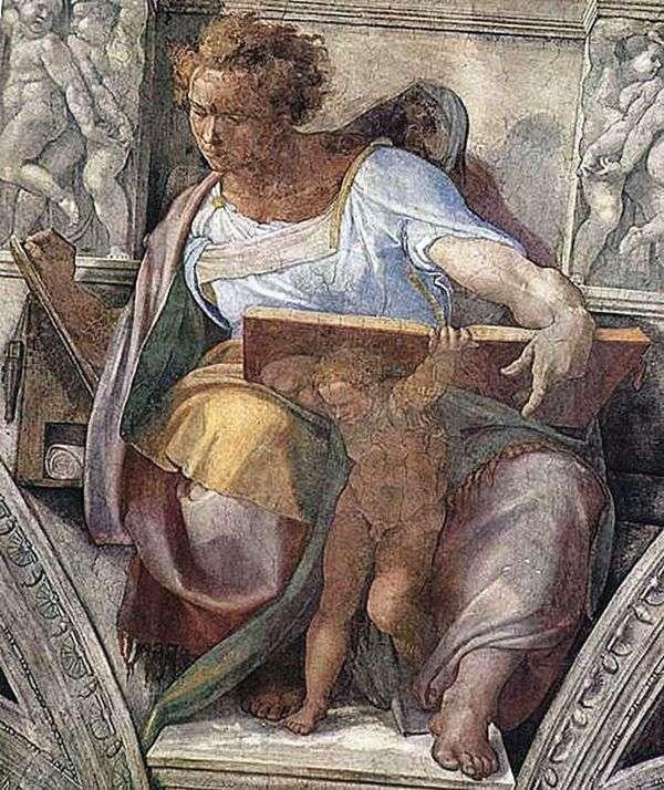 «Пророк Даниил», Микеланджело Буонарроти — описание