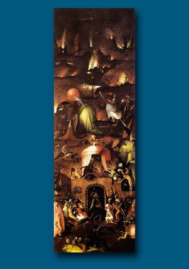 «Страшный суд», Иероним Босх — описание картины