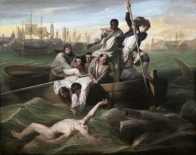Брук Уотсон и акула, Джон Синглтон Копли, 1778