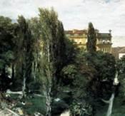 Полдень в саду Тюильри, Адольф Фон Менцель