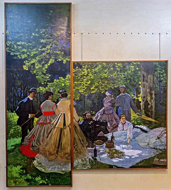 Завтрак в мастерской, Эдуард Мане - описание картины